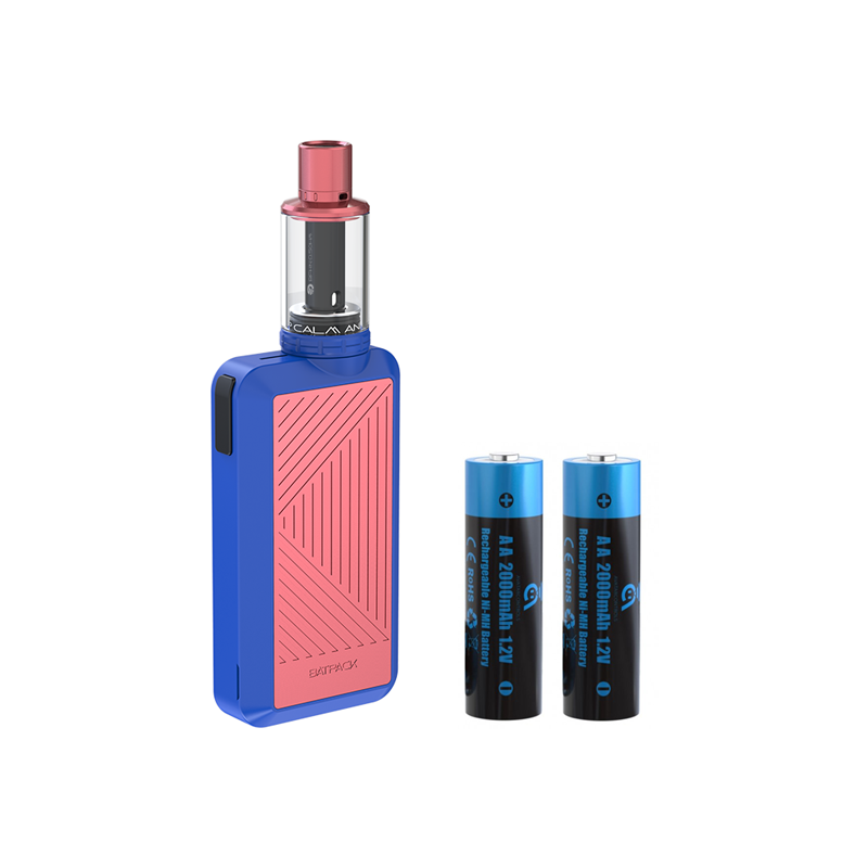 Elektronická cigareta: Joyetech Batpack Kit s ECO D16 (Dark Blue/Pink)