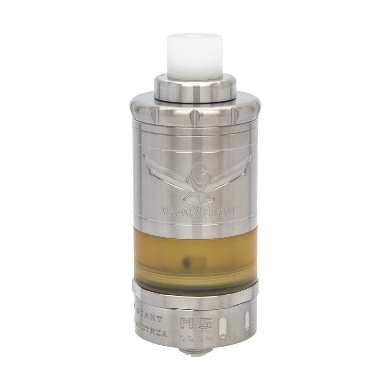 Clearomizér Vapor Giant M5 MTL RTA (5ml) (Stříbrný)