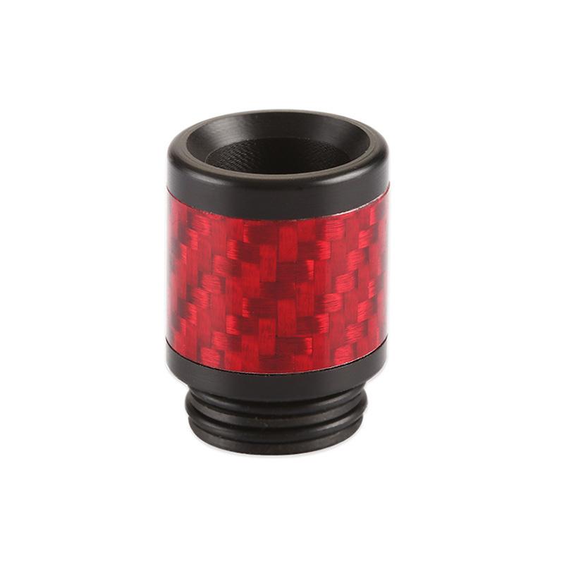 Resinový náustek 810 s karbonem (Červený)