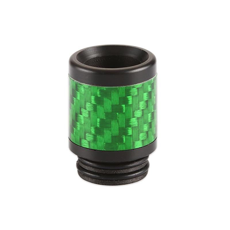 Resinový náustek 810 s karbonem (Zelený)