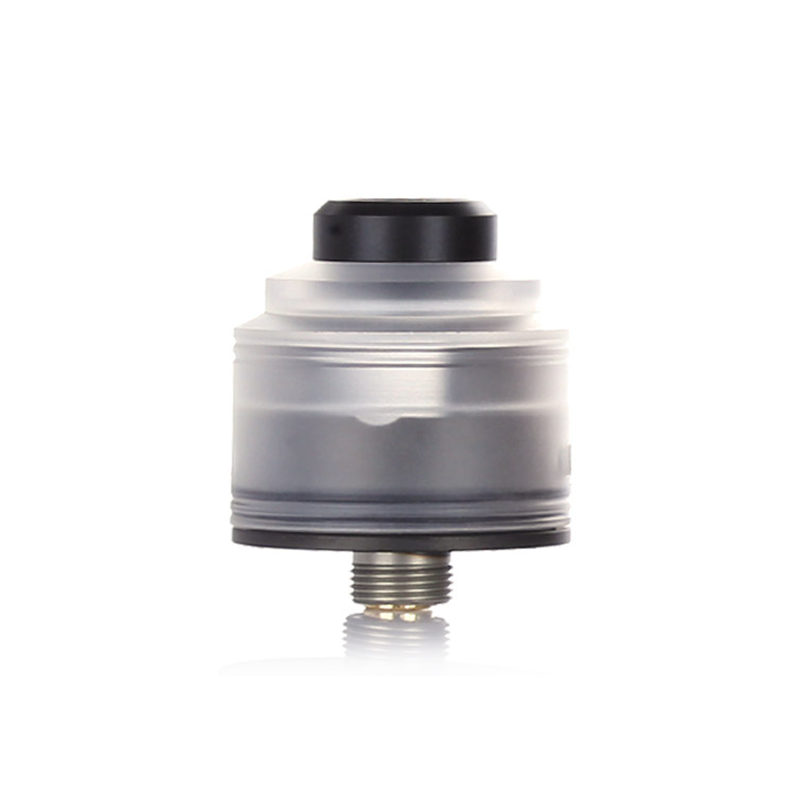 RDA atomizér GAS MODS Nixon S (Black Base / Clear)