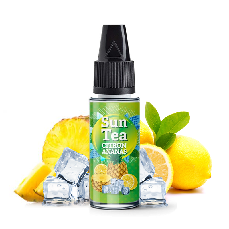 Příchuť Sun Tea: Citron Ananas (Ananasovo-citronový čaj) 10ml