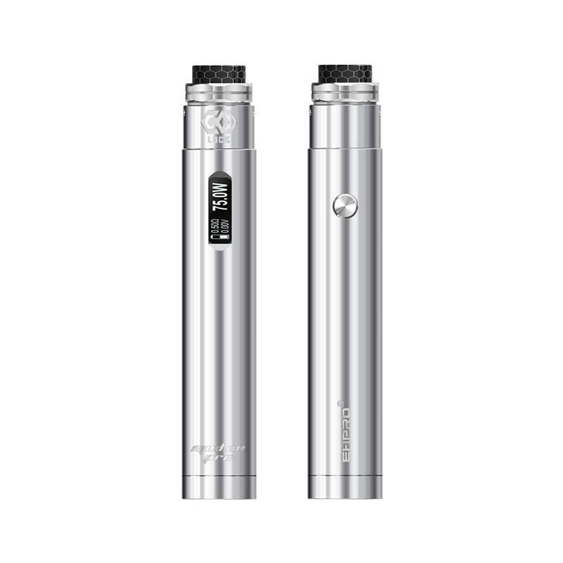 Elektronický grip: Ehpro 101 Pro Kit s Lock RDA (Stříbrný)