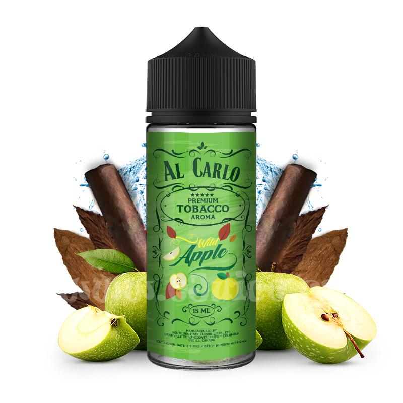 Příchuť Al Carlo Shake & Vape: Wild Apple (Jablečná směs & tabák) 15ml