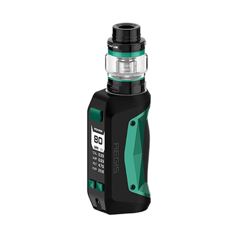 Elektronický grip: GeekVape Aegis Mini Kit s Cerberus Tank (2200mAh) (Black & Green)