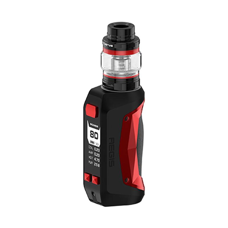 Elektronický grip: GeekVape Aegis Mini Kit s Cerberus Tank (2200mAh) (Black & Red)