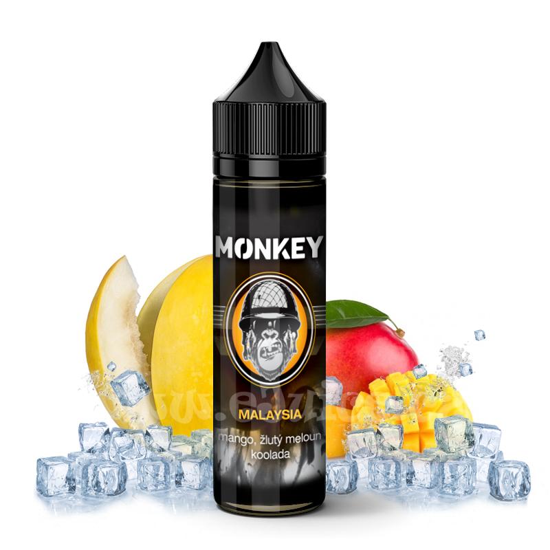 Příchuť Monkey S&V: Malaysia (Chladivé mango a kantalup) 7,2ml