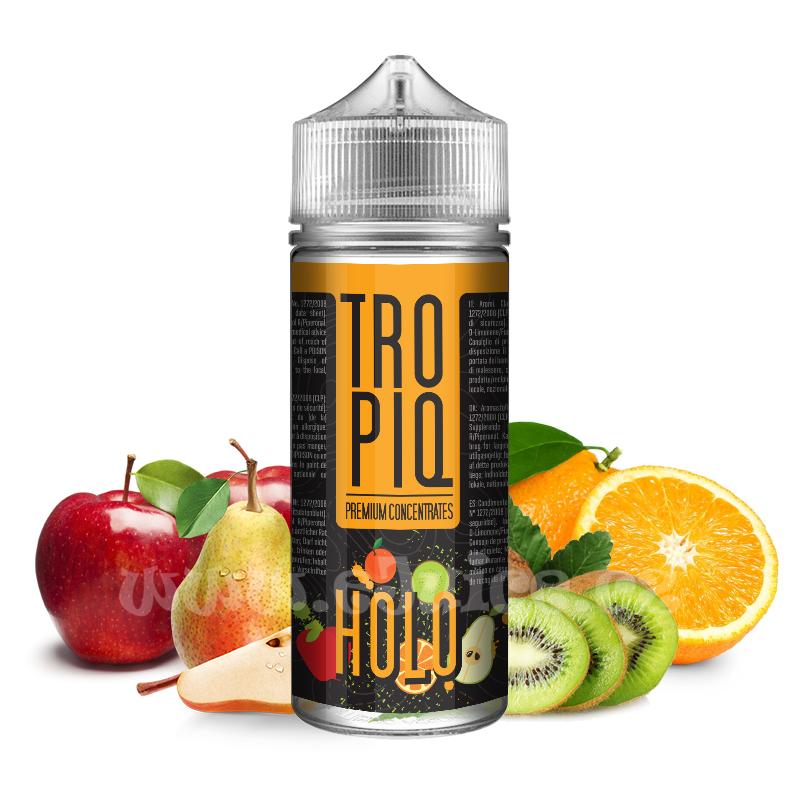 Příchuť Tropiq Shake & Vape: Holo (Pomeranč, kiwi, jablko, hruška) 15ml