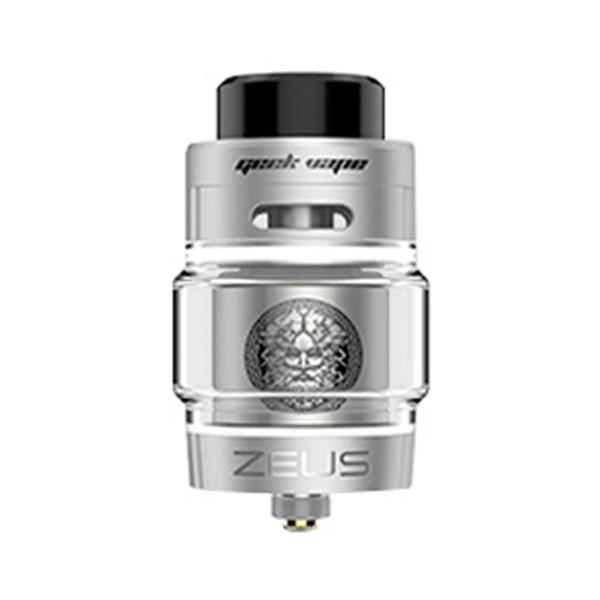 Clearomizér GeekVape Zeus Dual RTA (5,5ml) (Stříbrný)