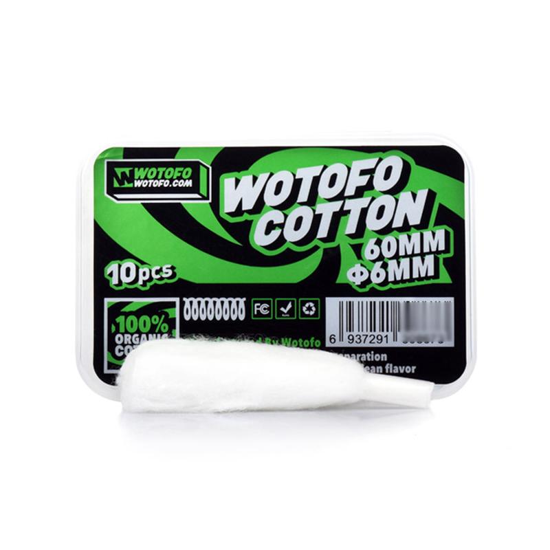 Přírodní vata Wotofo Agleted Cotton pro Profile RDA (10ks)
