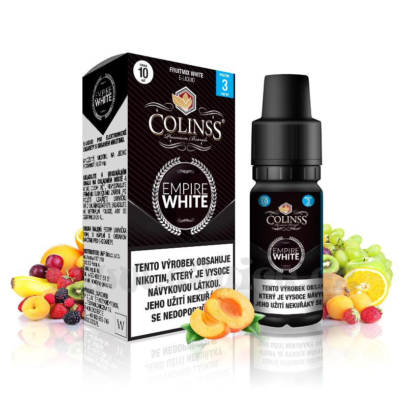 E-liquid Colinss 10ml / 12mg: Empire White (Ovocná směs)