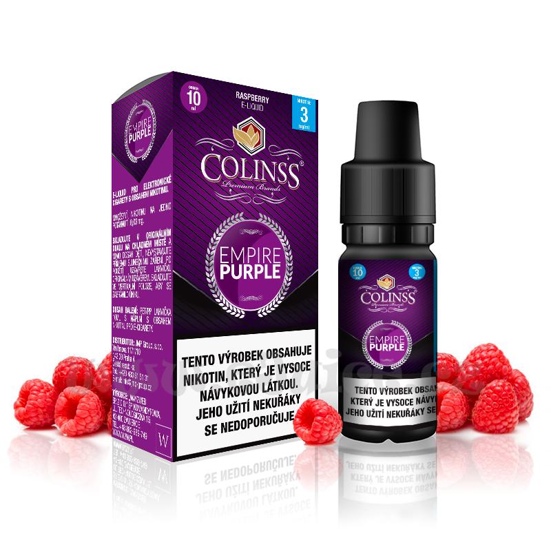 E-liquid Colinss 10ml / 12mg: Empire Purple (Malina)