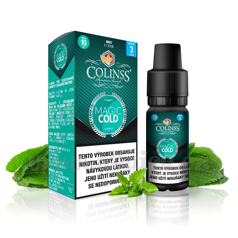 E-liquid Colinss 10ml / 18mg: Magic Cold (Máta)