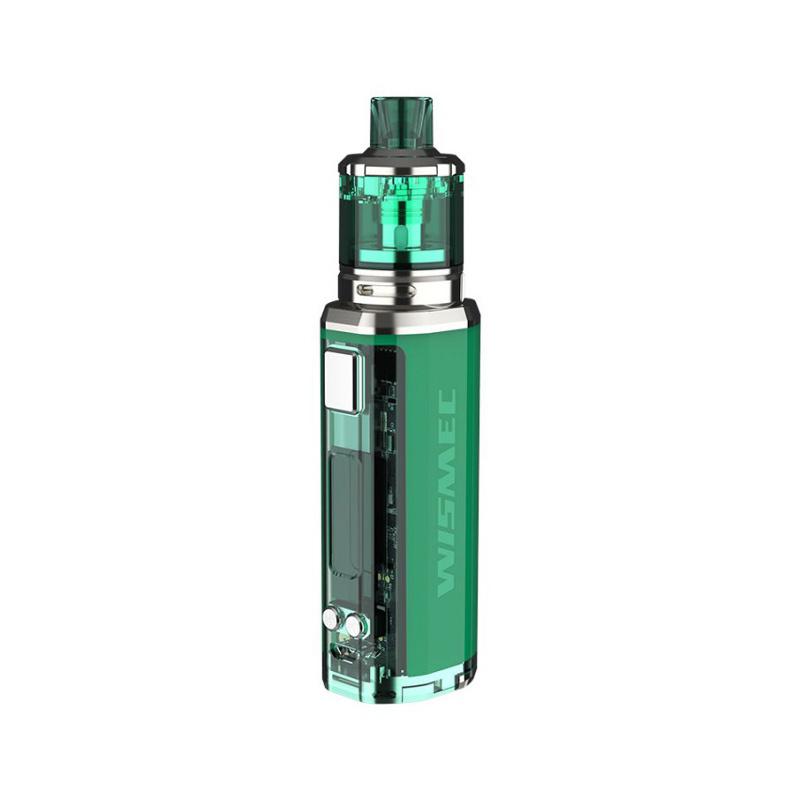 Elektronický grip: WISMEC Sinuous V80 Kit s Amor NSE (Zelený)
