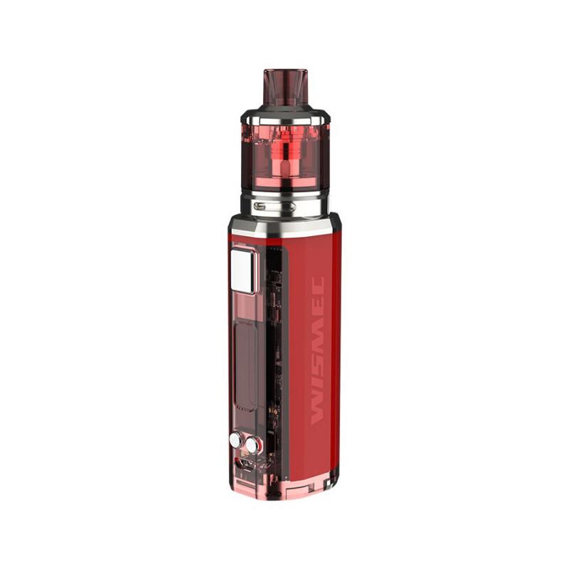Elektronický grip: WISMEC Sinuous V80 Kit s Amor NSE (Červený)