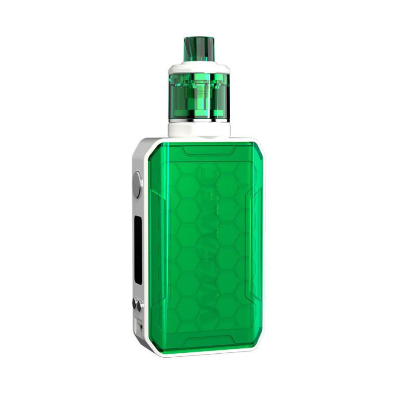Elektronický grip: WISMEC Sinuous V200 Kit s Amor NSE (Zelený)