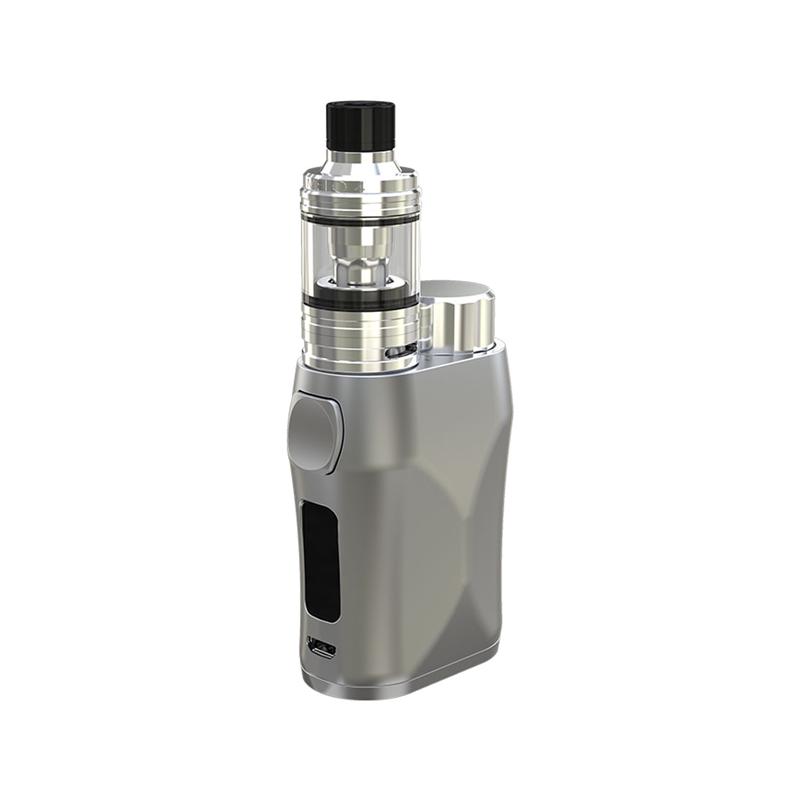 Elektronický grip: Eleaf iStick Pico X Kit s Melo 4 D22 (Stříbrný)