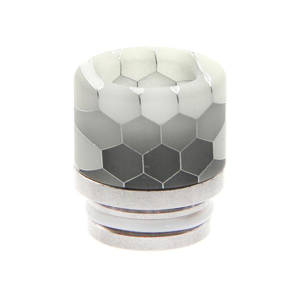 Resinový náustek Noctilucent Stainless Steel 810 #8 (Vzor C)