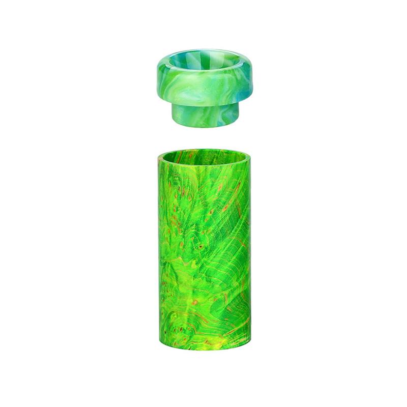 Rukáv ze stabilizovaného dřeva pro DEJAVU DJV Mecha Mod (Zelený)