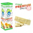 E-liquid: PREMIUM - 30ml / 6mg: ČOKOLÁDA BÍLÁ (White Chocolate)
