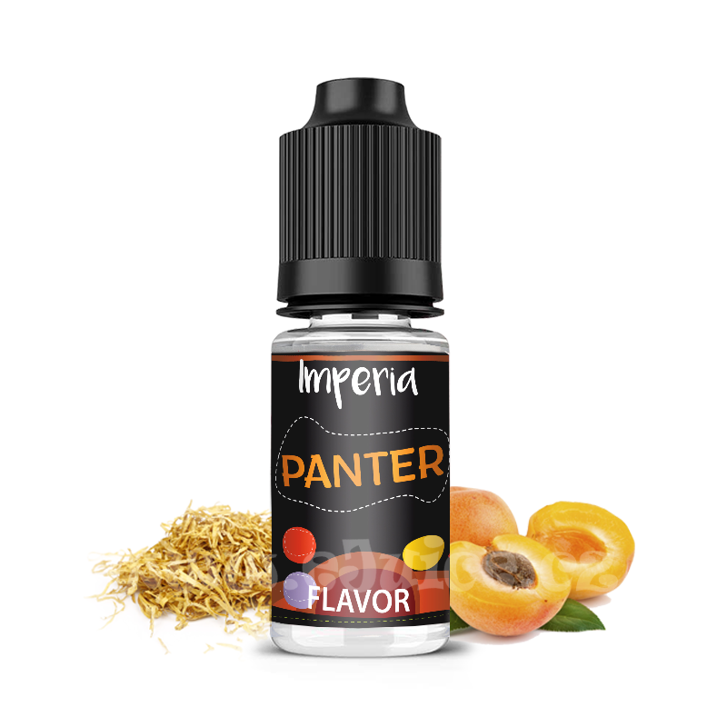 Příchuť Imperia Black Label: Panter (Tabák s meruňkou) 10ml