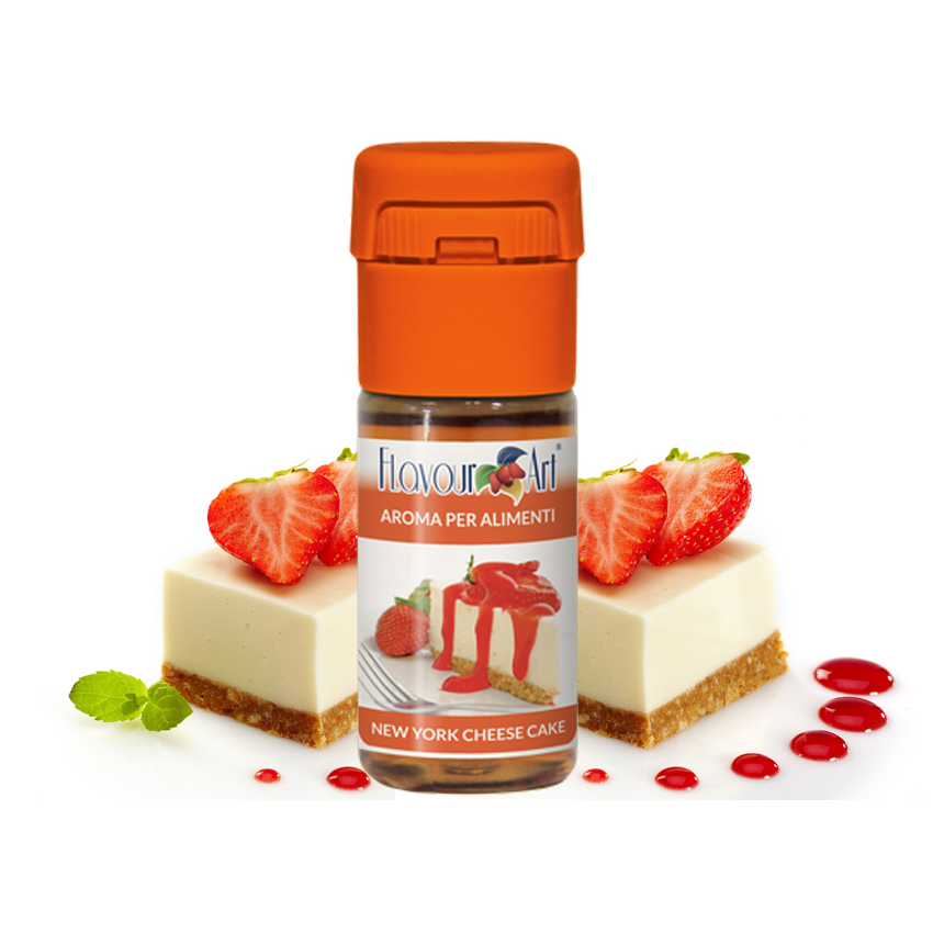 Příchuť FlavourArt: New York Cheesecake (Newyorský cheesecake) 10ml