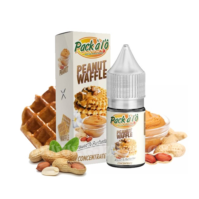 Příchuť Pack ALO: Peanut Waffle (Arašídové vafle) 10ml