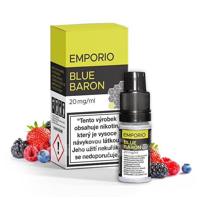 E-liquid Emporio Salt 10ml / 20mg: Blue Baron (Bobulovitý mix)