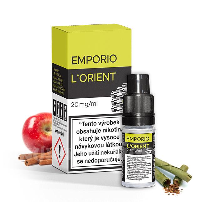 E-liquid Emporio Salt 10ml / 20mg: L Orient (Orientální tabák)