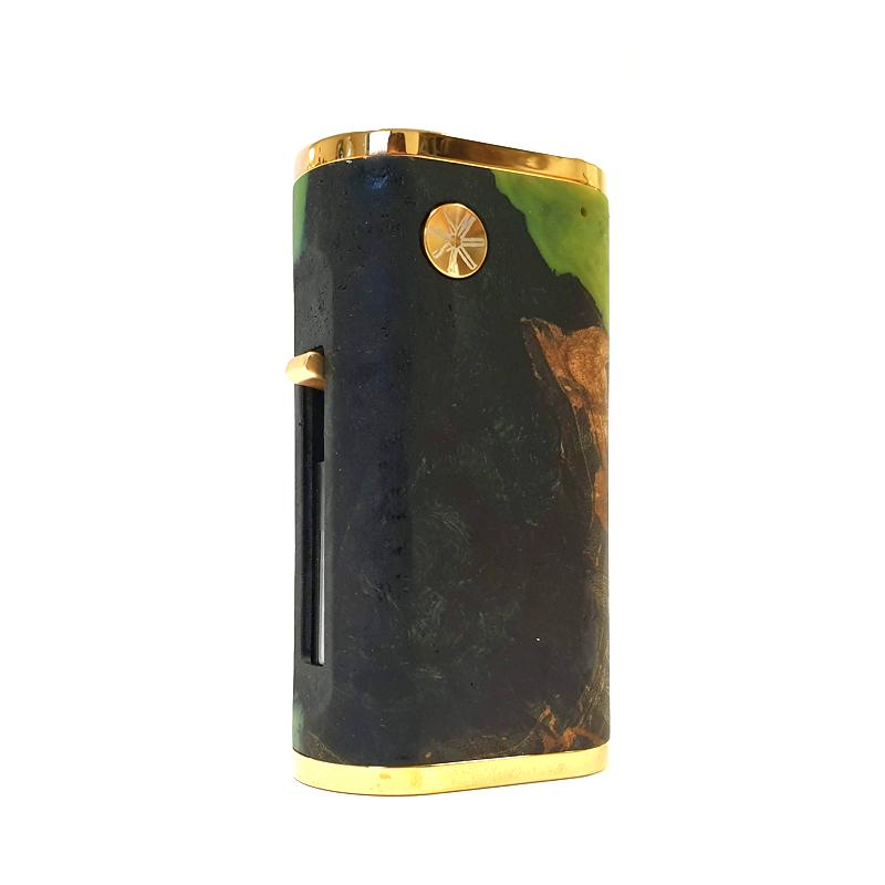 Elektronický grip: Asmodus Pumper 21 Squonk Mod (Gold & Black 007)