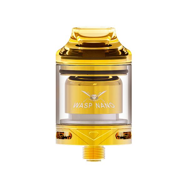 Clearomizér Oumier Wasp Nano RTA (2ml) (Zlatý)