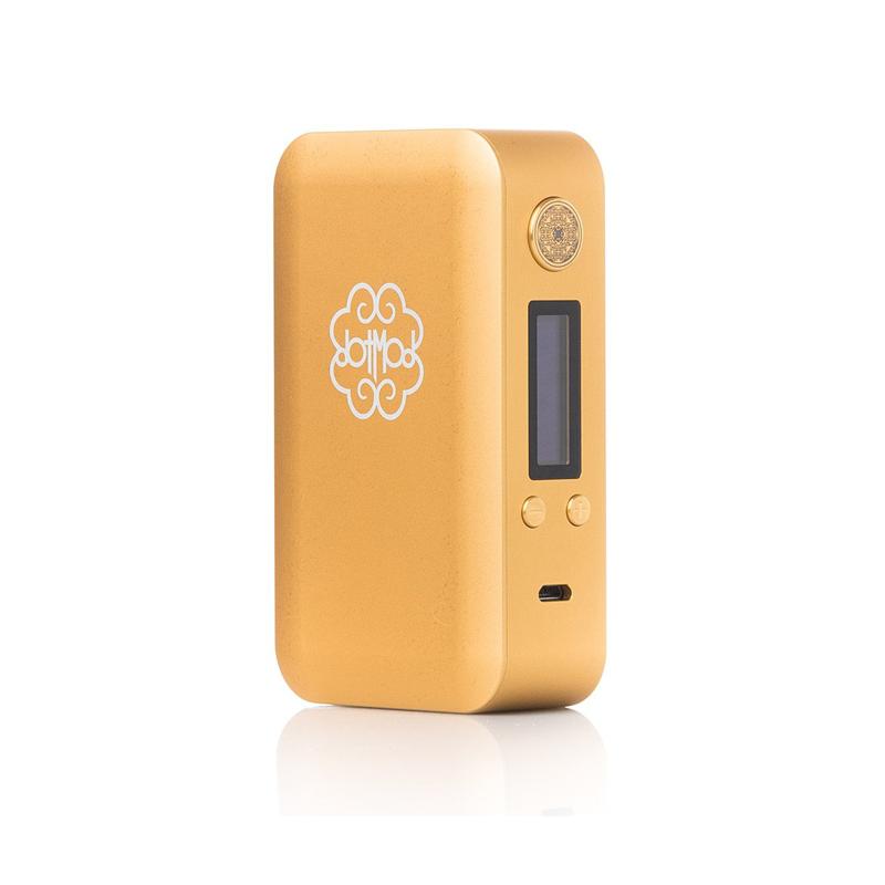 Elektronický grip: Dotmod dotBox 200W (Zlatý)