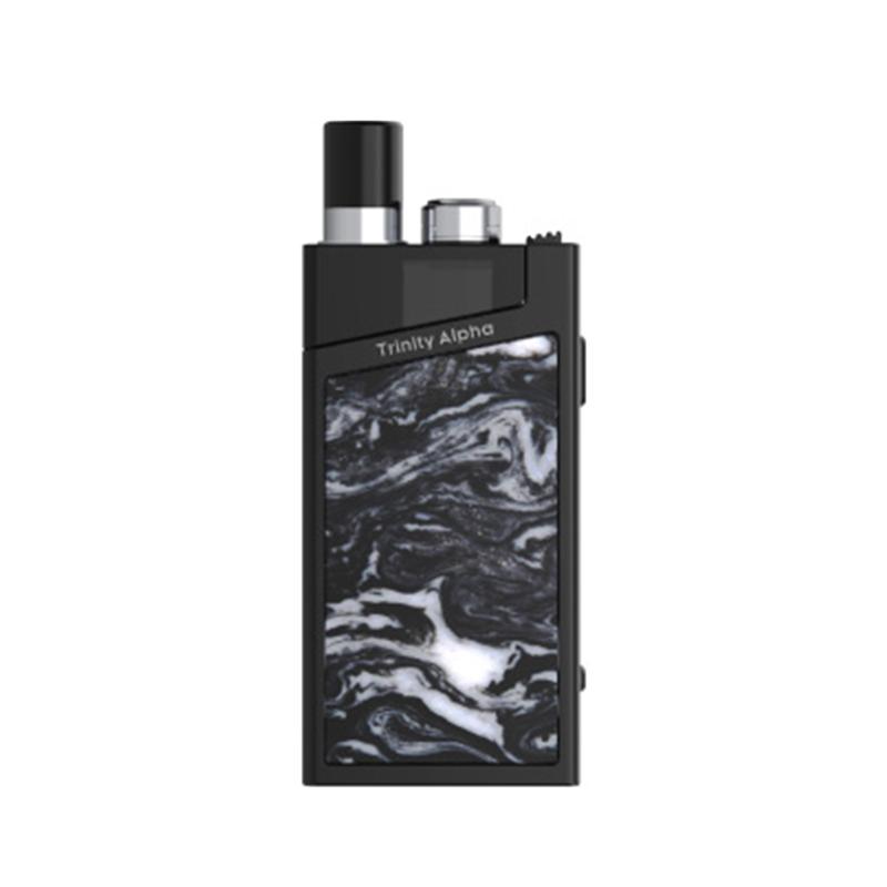 Elektronická cigareta: SMOK Trinity Alpha Resin Pod Kit (1000mAh) (Bright Black)