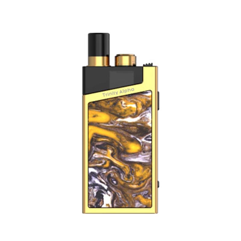 Elektronická cigareta: SMOK Trinity Alpha Resin Pod Kit (1000mAh) (Prism Gold)