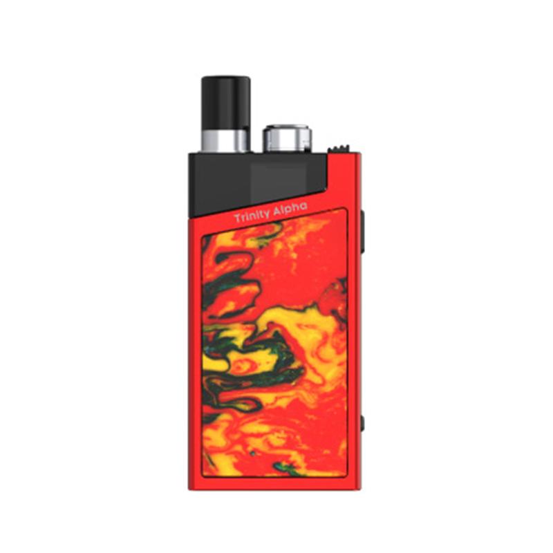 Elektronická cigareta: SMOK Trinity Alpha Resin Pod Kit (1000mAh) (Red)