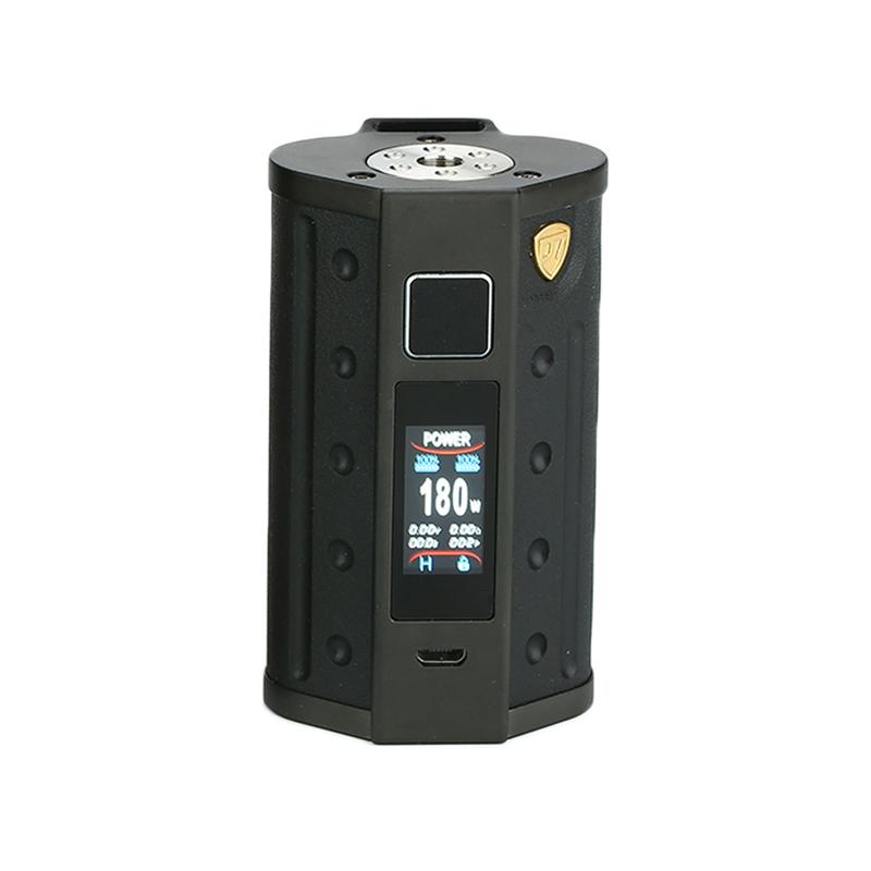 Elektronický grip: DEJAVU DJV D7 TS Mod (Solid Black)