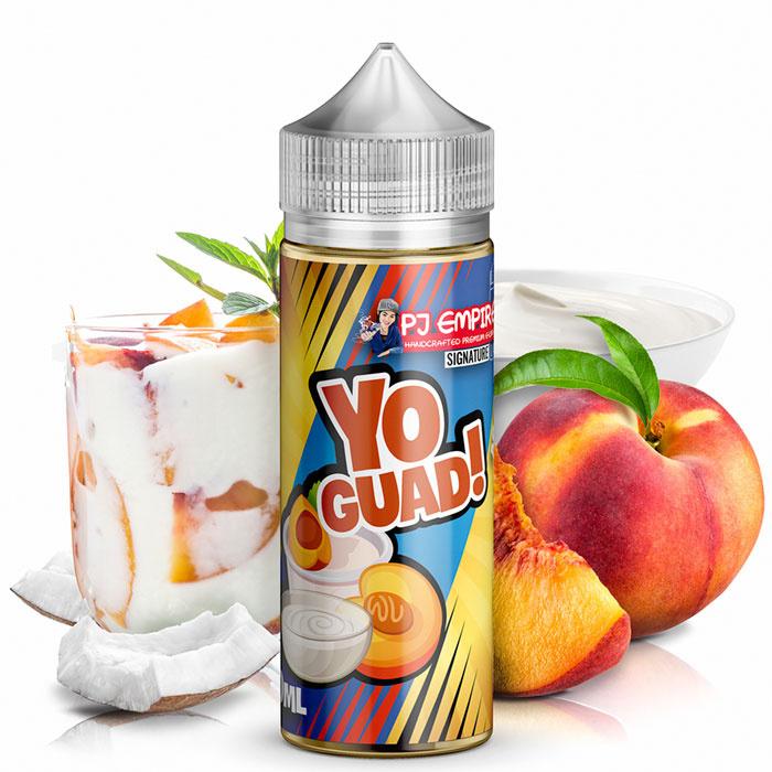 Příchuť PJ Empire Signature Line: Yo Guad (Broskvový jogurt) 30ml
