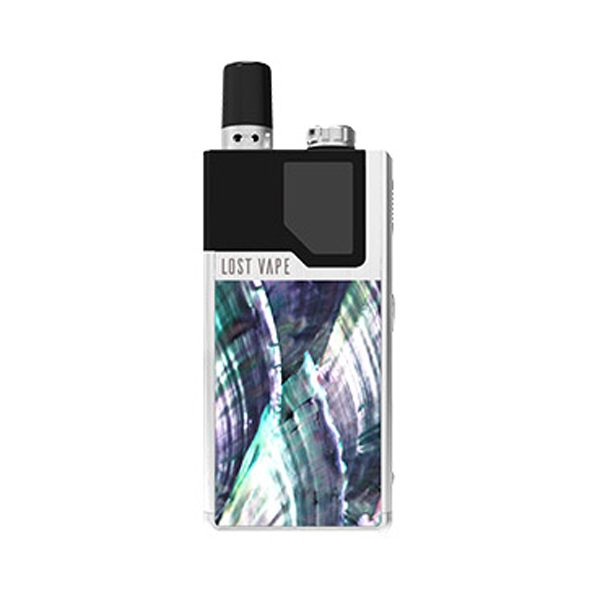 Elektronická cigareta: Lost Vape Orion DNA GO Pod Kit (950mAh) (Silver Ocean Scallop)
