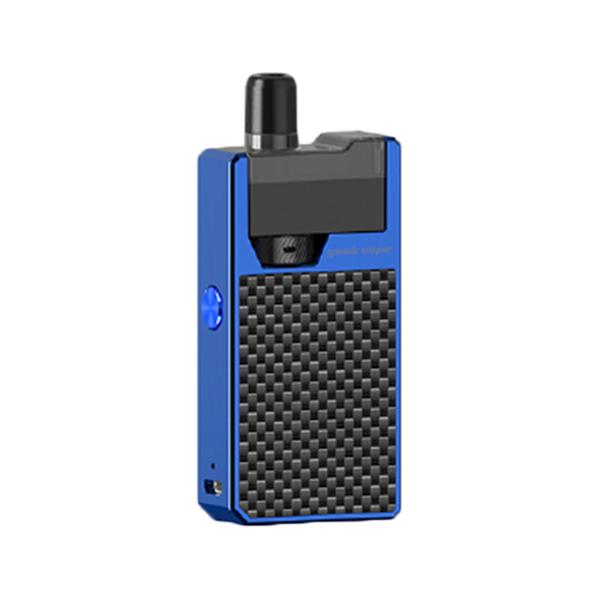 Elektronická cigareta: GeekVape Frenzy Pod Kit (950mAh) (Blue Carbon Fiber)