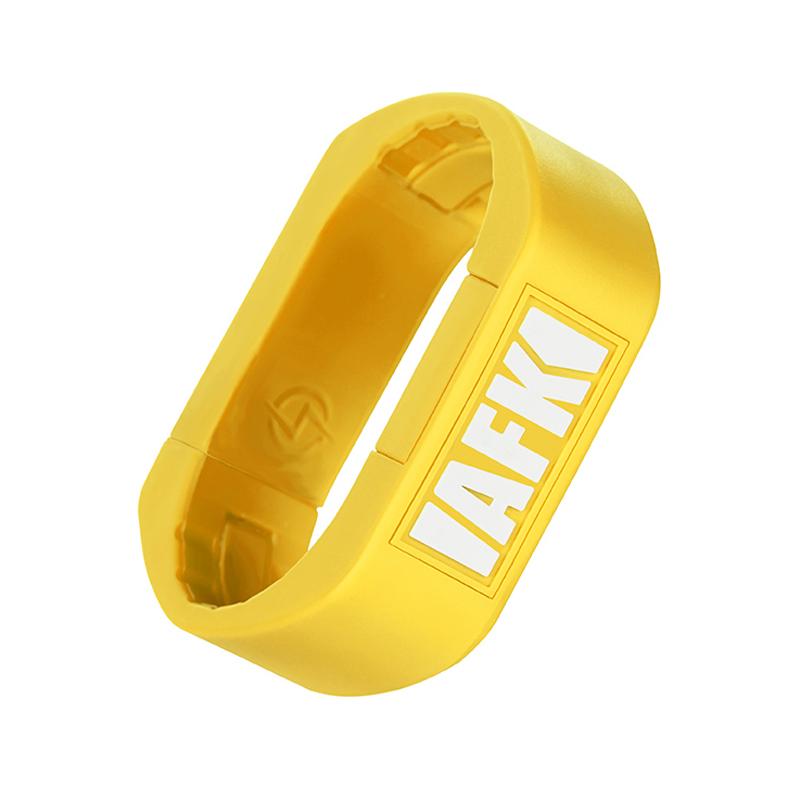 Elektronická cigareta: AFK Studio Vape Bracelet Pod Kit (300mAh) (Žlutá)