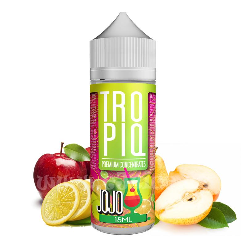 Příchuť Tropiq Shake & Vape: Jojo (Jablko, hruška a citrusy) 15ml
