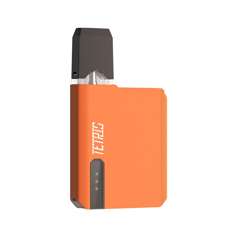 Elektronická cigareta: POMP Tetris Pod Kit (400mAh) (Orange Paint)