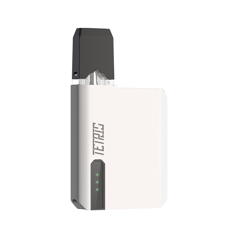 Elektronická cigareta: POMP Tetris Pod Kit (400mAh) (White Paint)