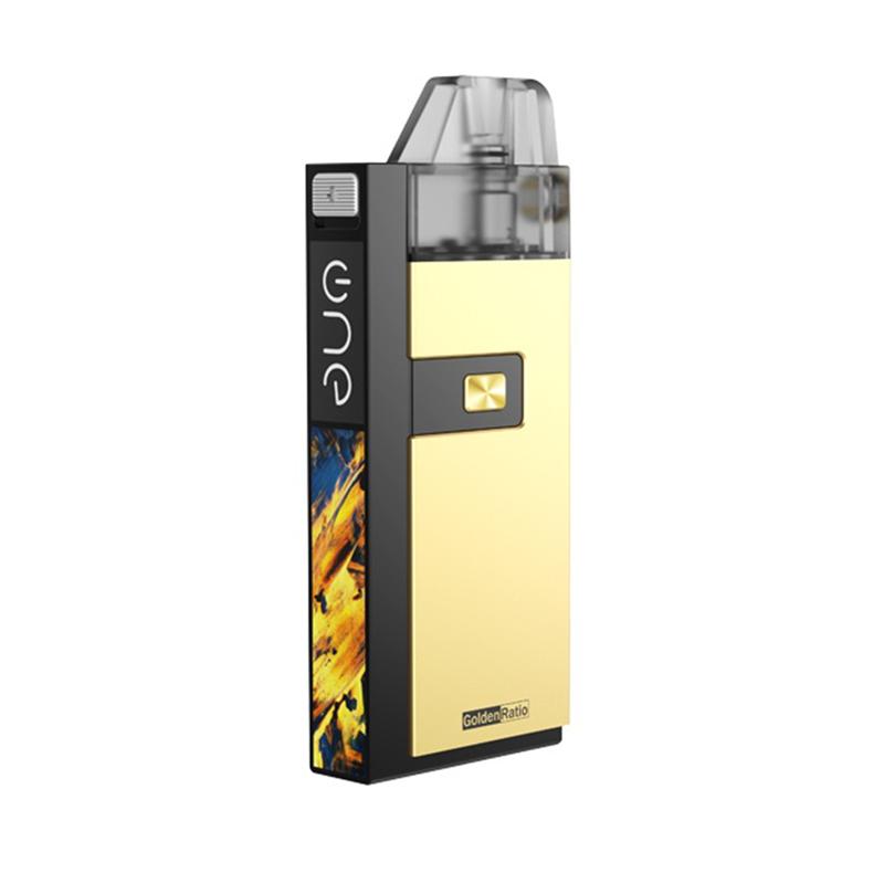 Elektronická cigareta: OneVape Golden Ratio Pod Kit (1100mAh) (Zlatá)