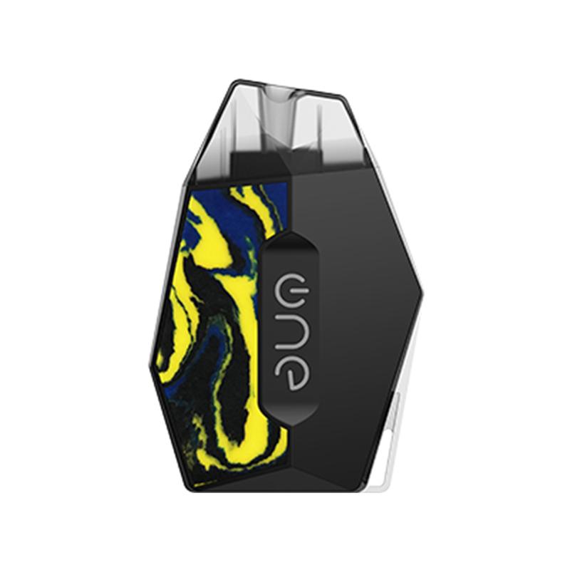 Elektronická cigareta: OneVape Lambo II Pod Kit (360mAh) (Black Spotted Yellow Resin)
