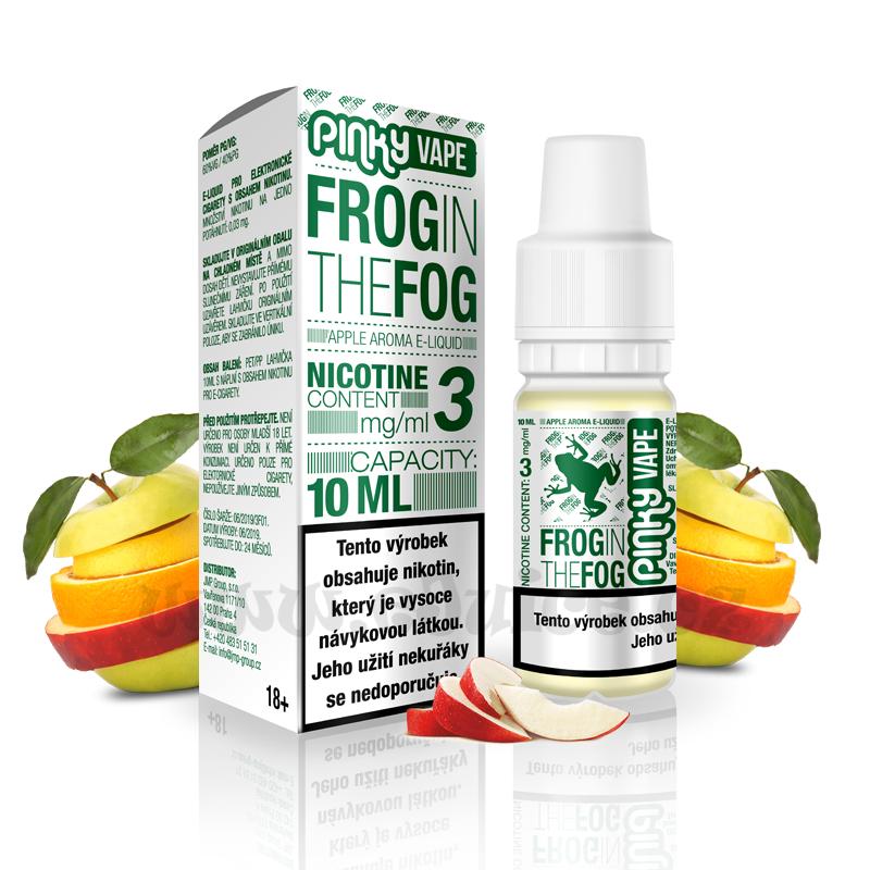 E-liquid Pinky Vape 10ml / 0mg: Frog in the Fog (Jablko)