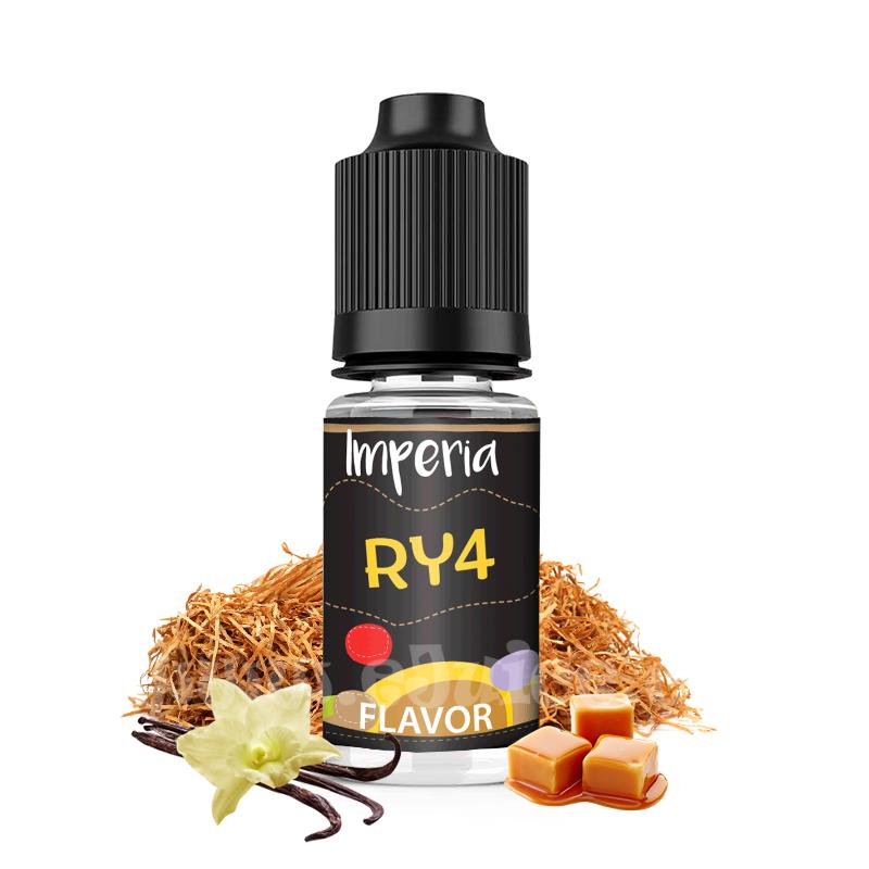 Příchuť Imperia Black Label: RY4 (Tabák s vanilkou a karamelem) 10ml
