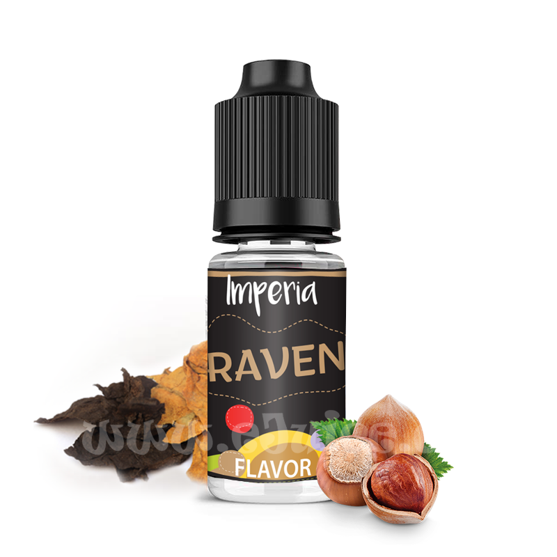 Příchuť Imperia Black Label: Raven (Tabák s oříškem) 10ml
