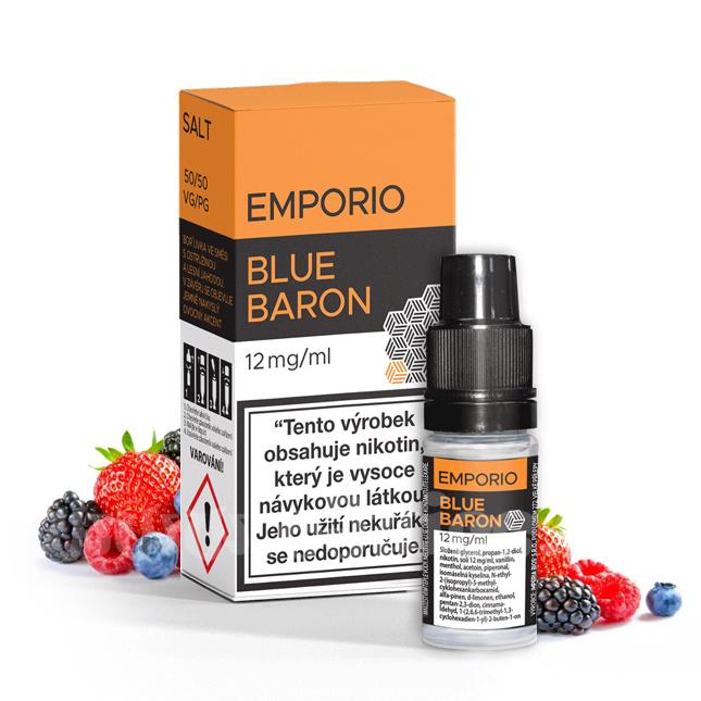 E-liquid Emporio Salt 10ml / 12mg: Blue Baron (Bobulovitý mix)
