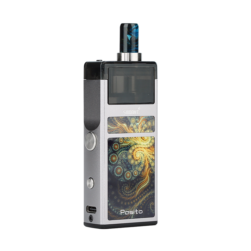 Elektronická cigareta: Smoant Pasito Pod Kit (1100mAh) (Gun Metal)